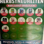 Games, Toys & more Pegasus Spiele Herbstneuheiten Plakat Linz